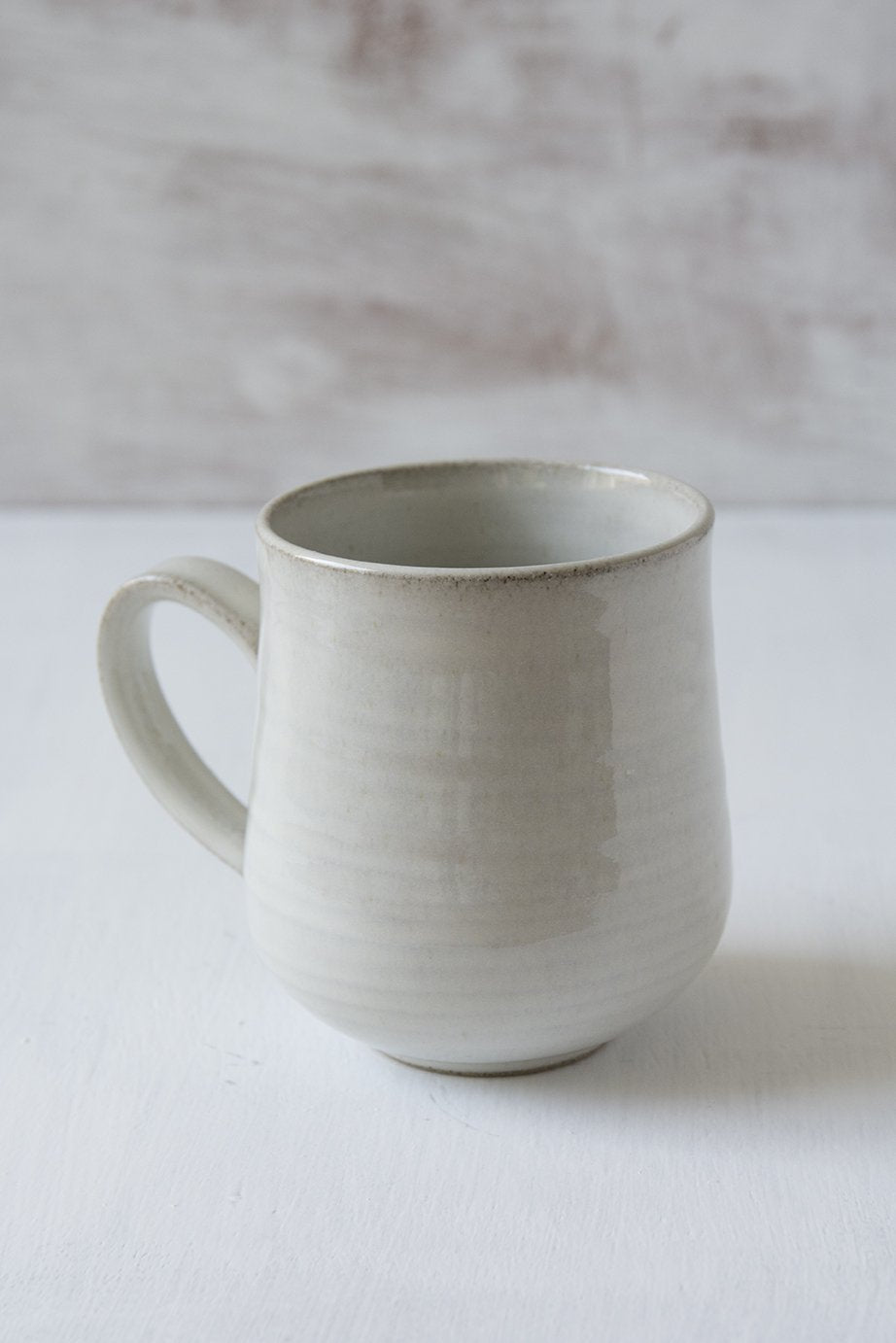 White Pottery Mug, 10 fl oz - Mad About Pottery - Mug