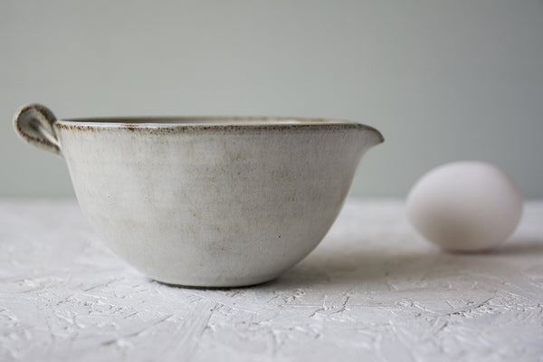 White Pottery Serving Bowl - Mad About Pottery - Bowl