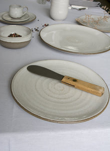 White Pottery Side Plate - Mad About Pottery - plates