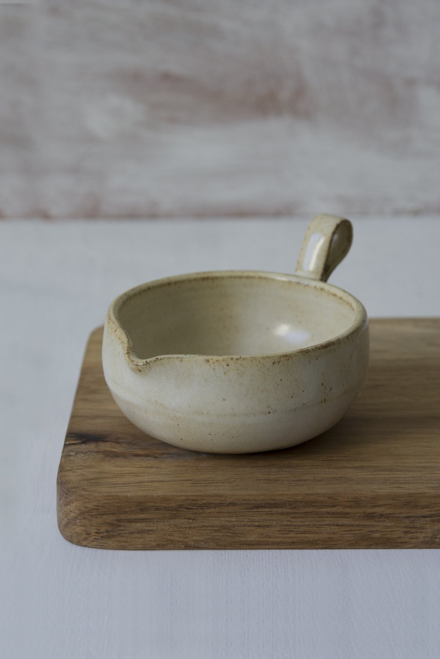 White Pottery Tea Bag Holder - Mad About Pottery - Bowl