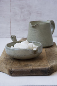 White Pottery Tea Bag Holder - Mad About Pottery- Bowl