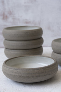 White Tapas Serving Dish - Mad About Pottery- Bowls