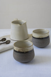 Yellow Ceramic Mugs Without Handles - Mad About Pottery - Mugs and Cups