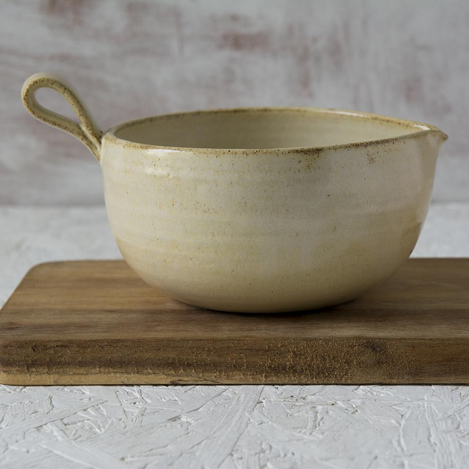 Yellow Pottery Kitchen Bowl - Mad About Pottery - Bowl