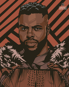 "M'Baku - ""Are You Done?!"" Vibranium Print (8x10 or 11x14)"