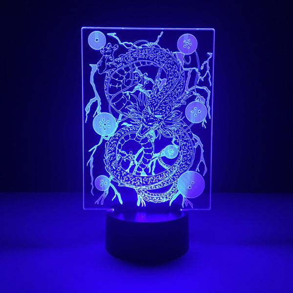 dragon ball shenron led lamp night light anime merchandise accessories