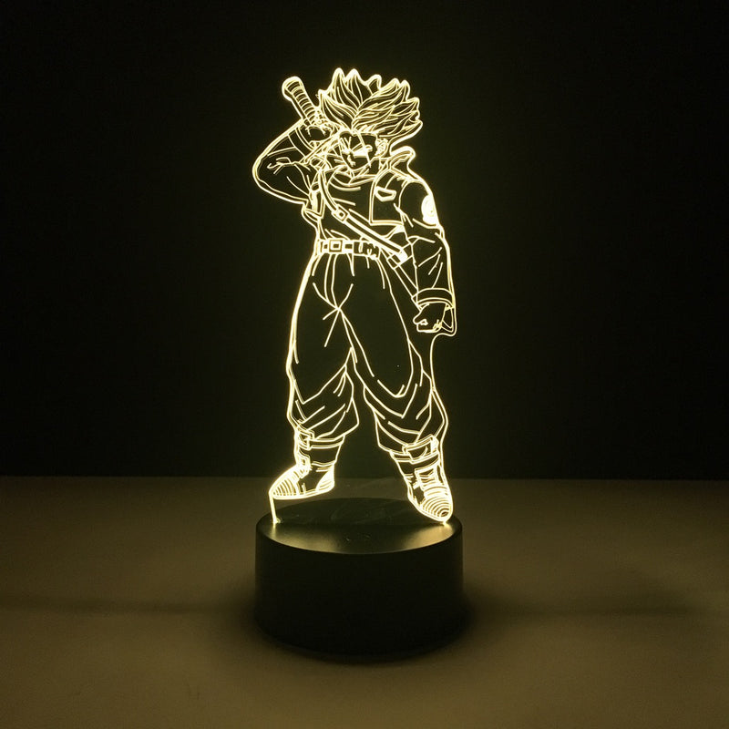 dragon ball trunk led lamp night light anime merchandise accessories