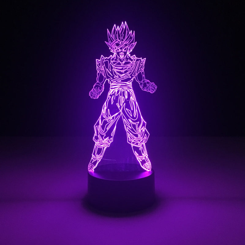 vegetto dragon ball led lamp