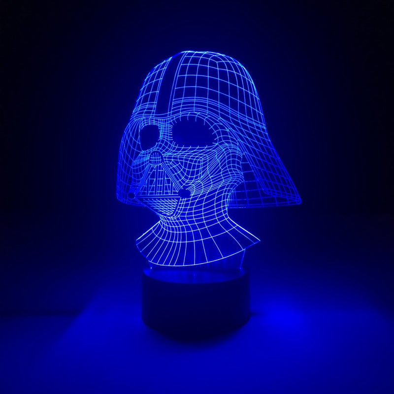 star wars darth vader led lamp night light movie merchandise accessories