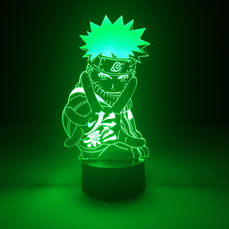 naruto led lamp