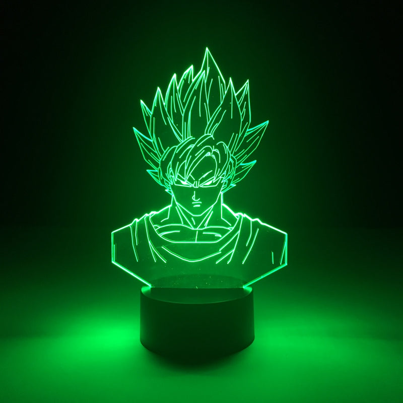 goku dragon ball led lamp