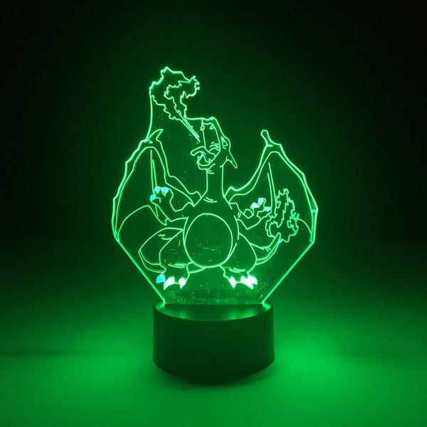 charizard pokemon led lamp