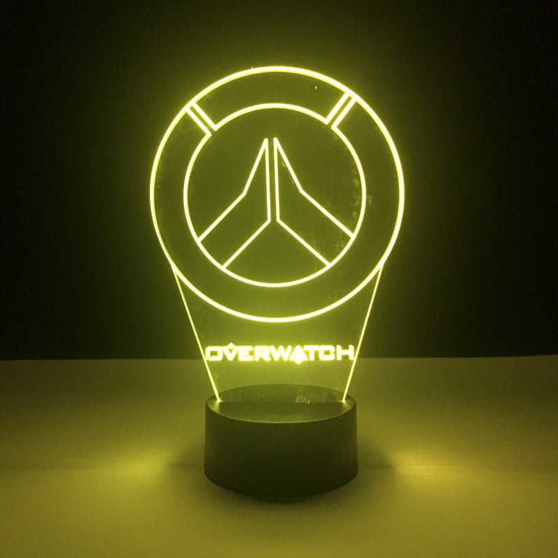 overwatch led lamp