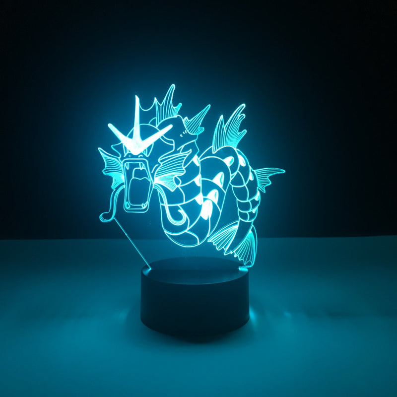 gyarados pokemon led lamp