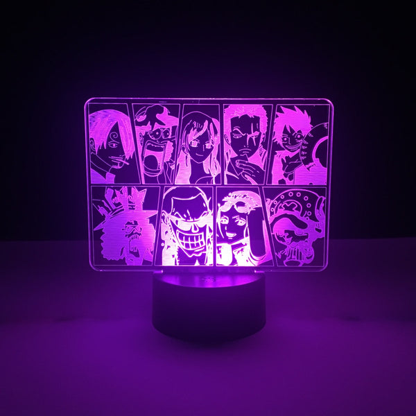 one piece led lamp