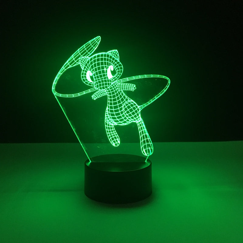 mew pokemon led lamp
