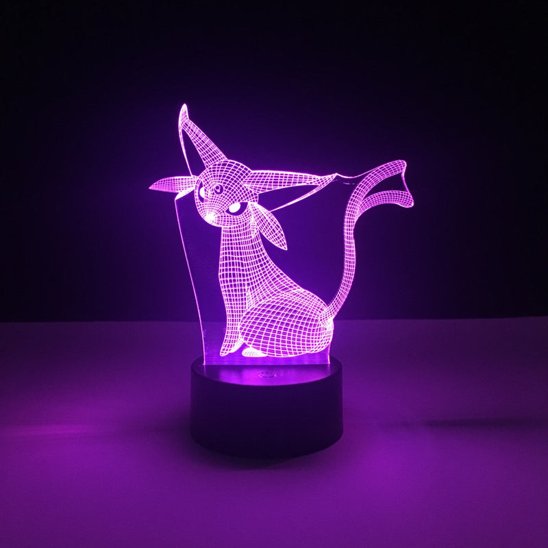 espeon pokemon led lamp
