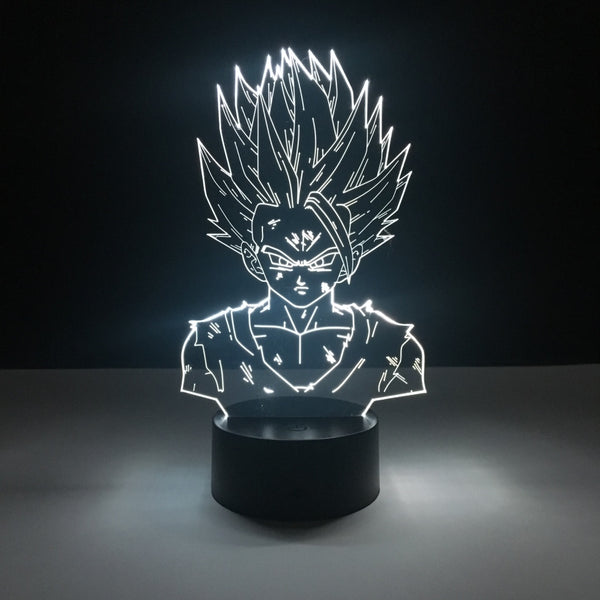 gohan dragon ball led lamp