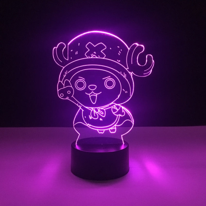 chopper one piece led lamp