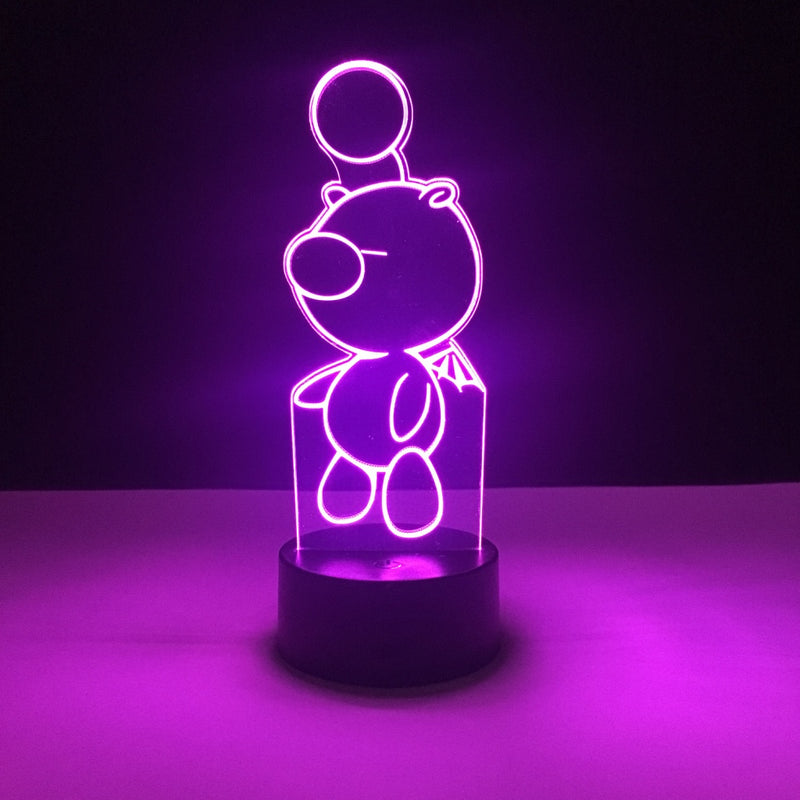 moogle final fantasy led lamp
