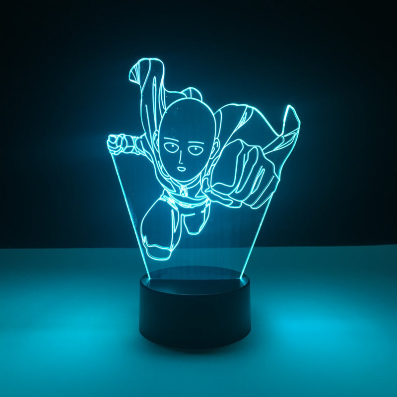 one punch man led lamp