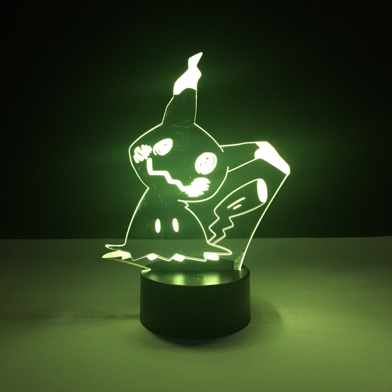 mimikyu pokemon led lamp