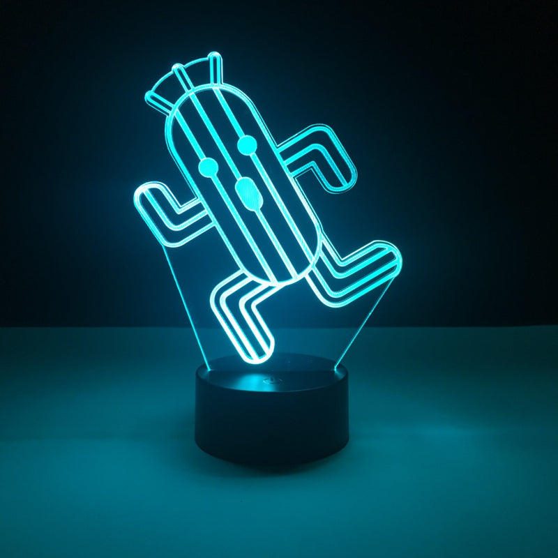cactuar final fantasy led lamp