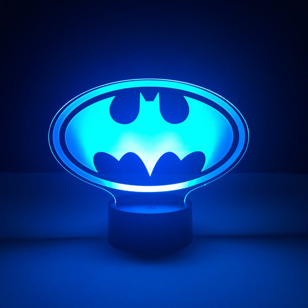 batman dc comics led lamp