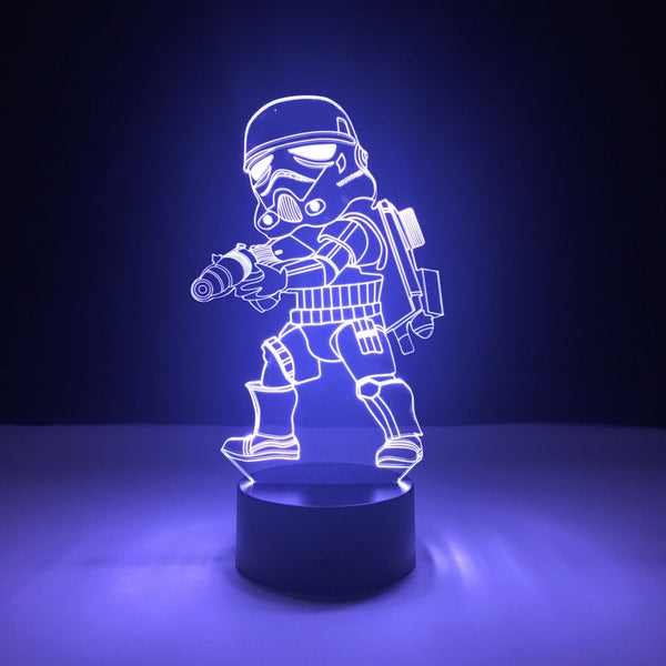 stormtrooper star wars led lamp