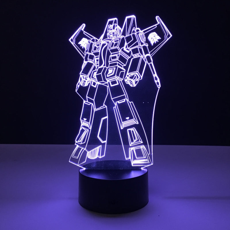 starscream transformers led lamp