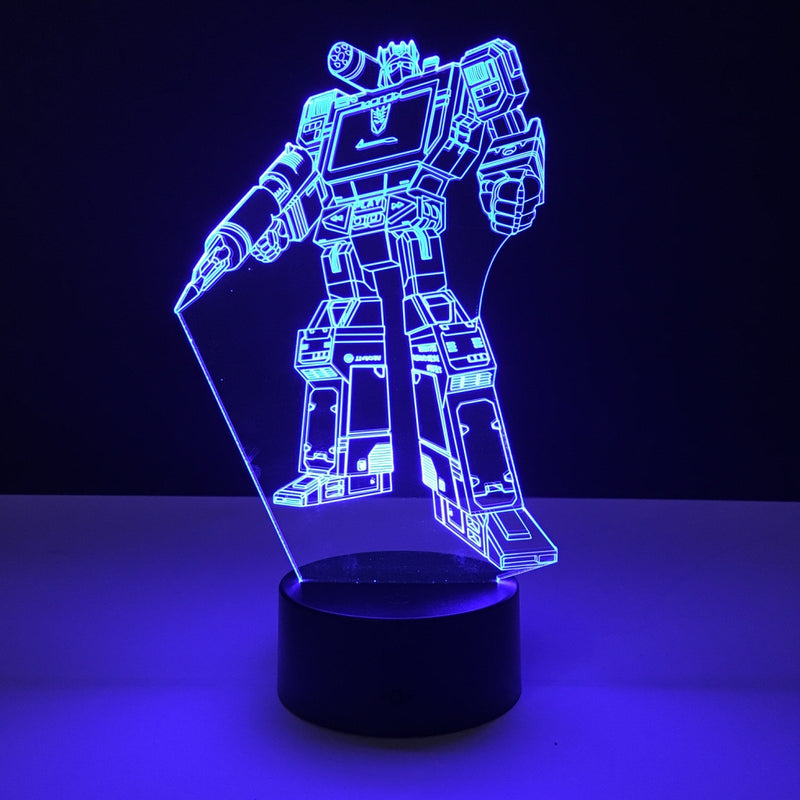 soundwave transformers led lamp