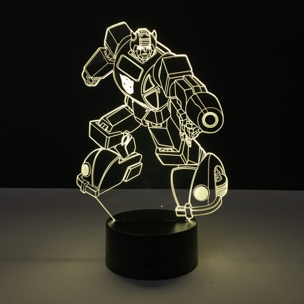 bumblebee transformers led lamp