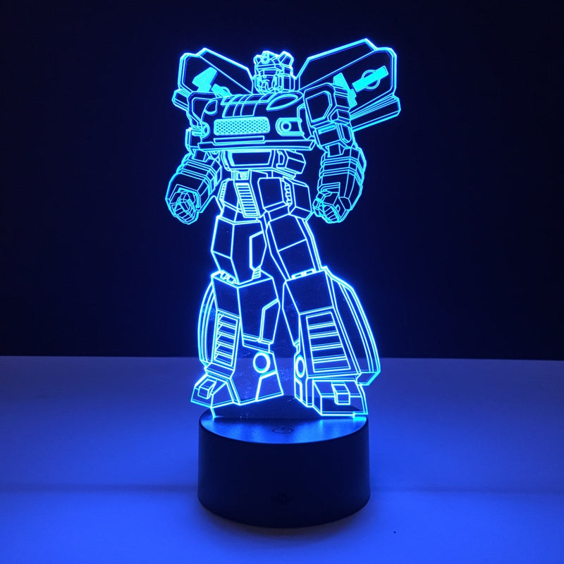 jazz transformers led lamp