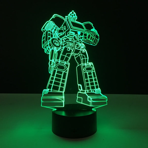 ironhide transformers led lamp