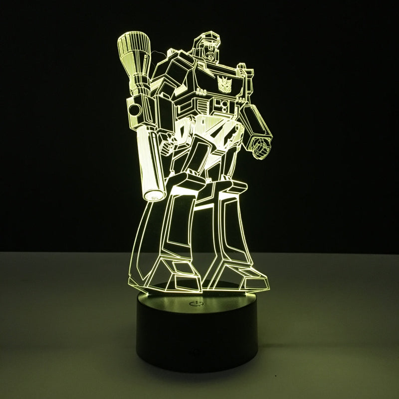 megatron transformers led lamp