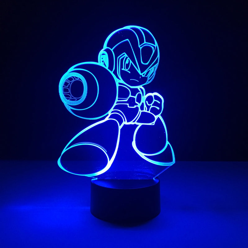 mega man led lamp