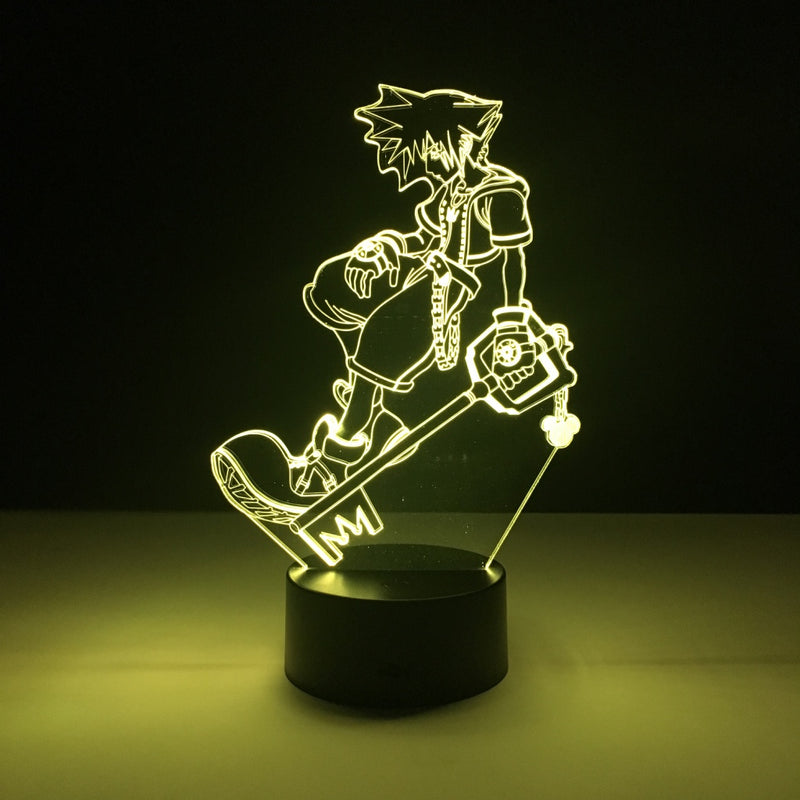 sora kingdom hearts led lamp