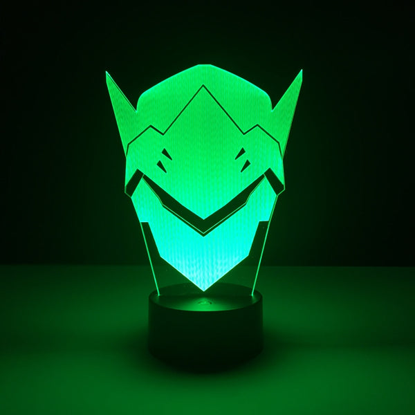 genji overwatch led lamp