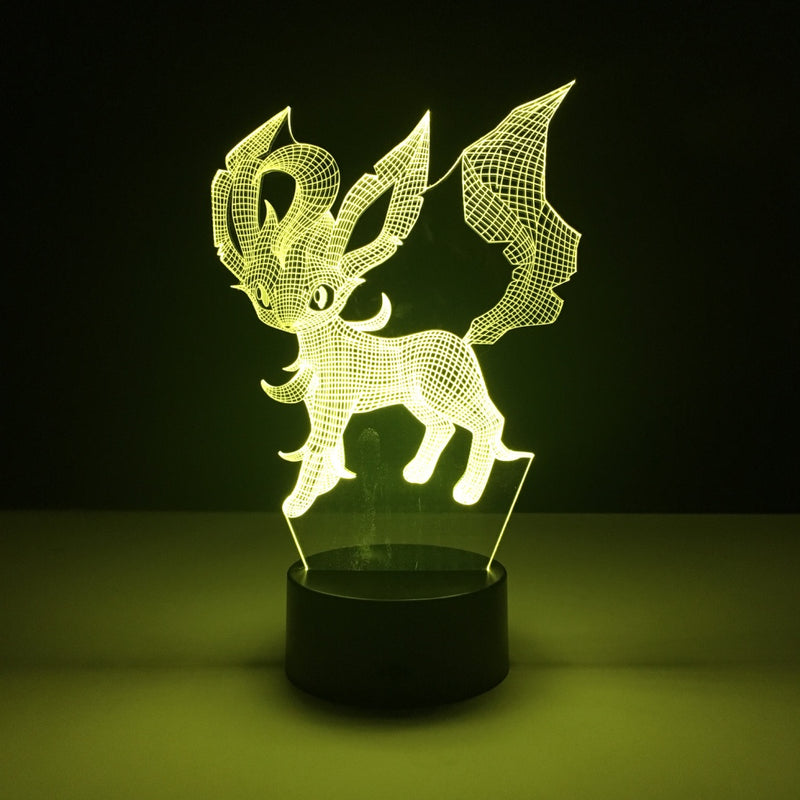 leafeon pokemon led lamp