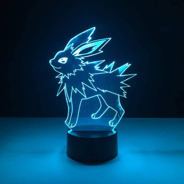 jolteon pokemon led lamp
