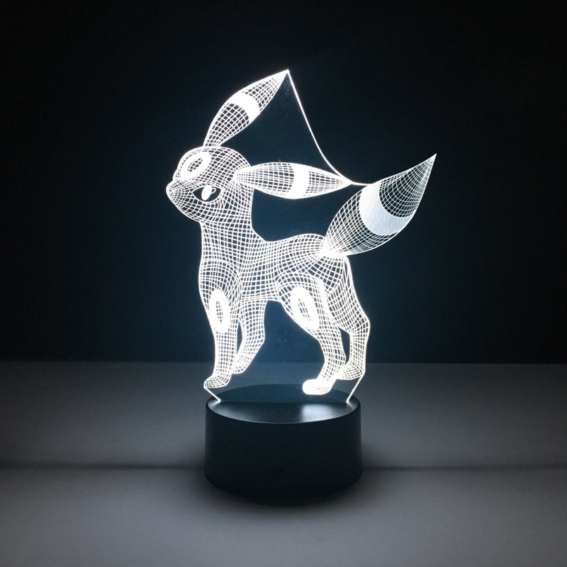 umbreon pokemon led lamp