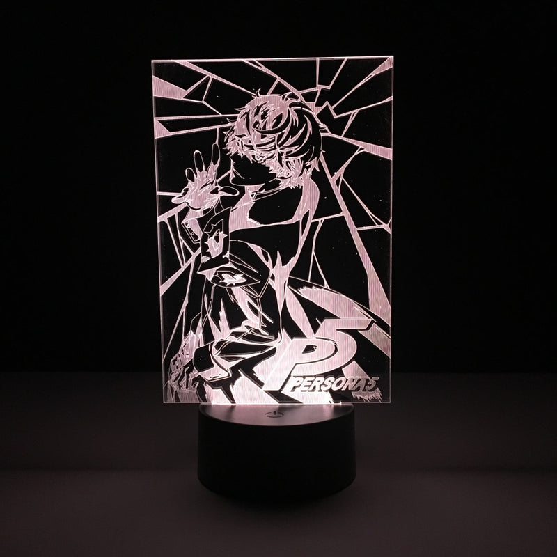 joker persona 5 led lamp