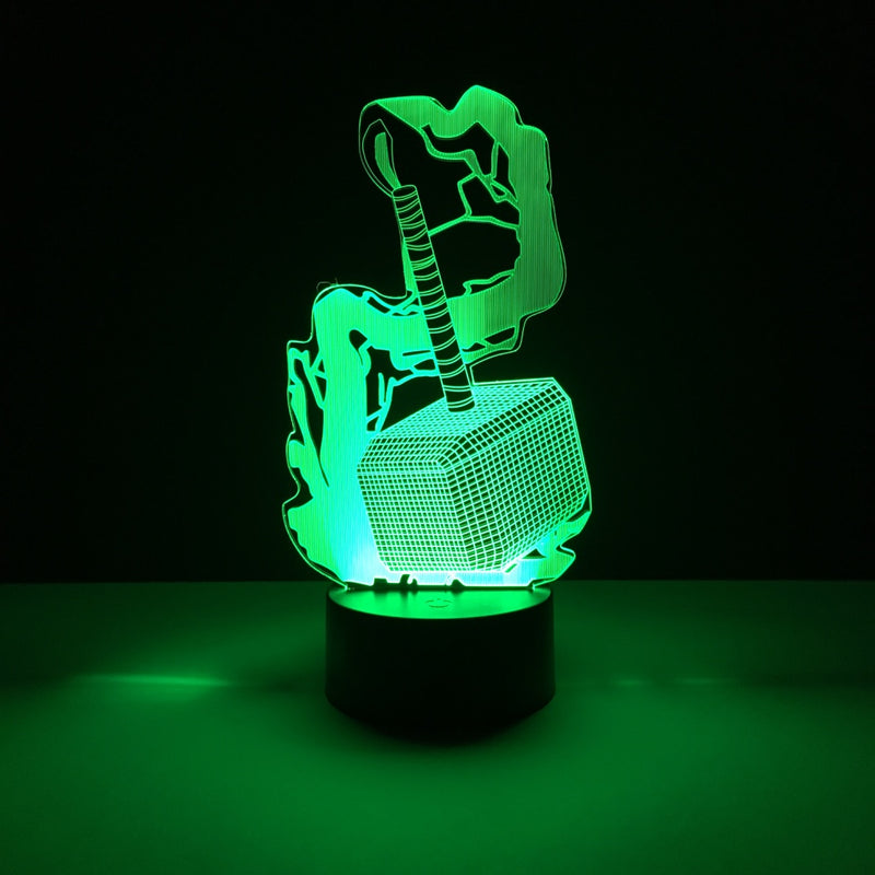 thors hammer led lamp