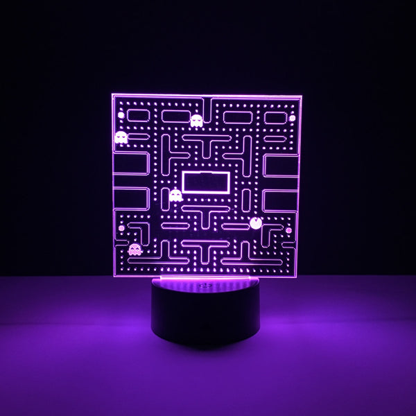 pac man led lamp