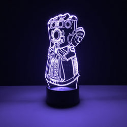 infinity gauntlet thanos led lamp