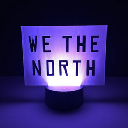 toronto raptors we the north led lamp night light