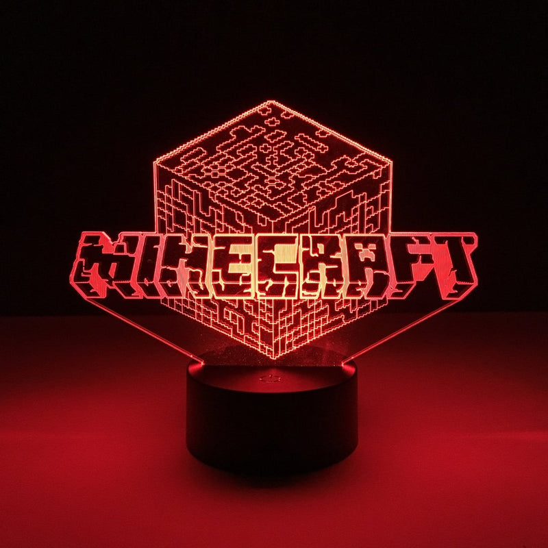 minecraft led lamp night light gaming merchandise accessories
