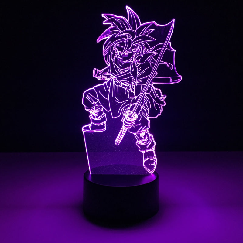 chrono trigger led lamp night light gaming merchandise accessories