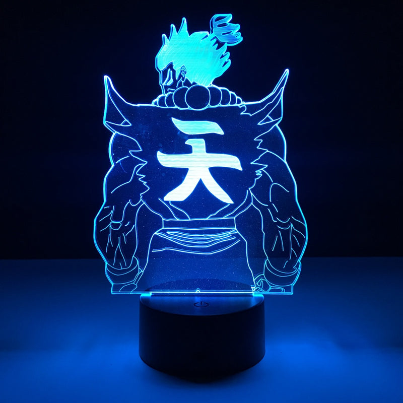 akuma led lamp night light gaming merchandise accessories