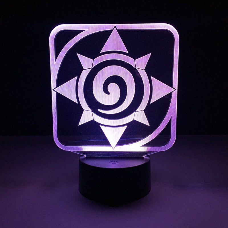 hearthstone led lamp night light gaming merchandise accessories